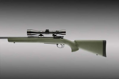 Hogue Schaft für Mauser 98 oliv grün